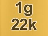 22k Gold Price Per Gram (Live)