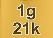 21k Gold Price Per Gram (Live)