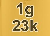 23k Gold Price Per Gram (Live)