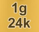 24k Gold Price Per Gram (Live)