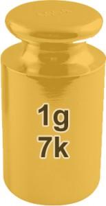 7k Gold 1 Gram