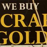 Scrap Gold Sign